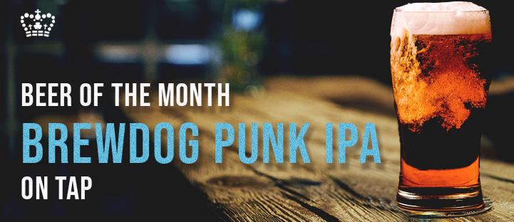Beer of the Month Brewdog Punk IPA